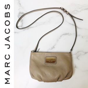 Marc Jacobs New York Percy Tan Leather Crossbody